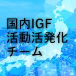 イメージ:国内IGF活動活発化チーム